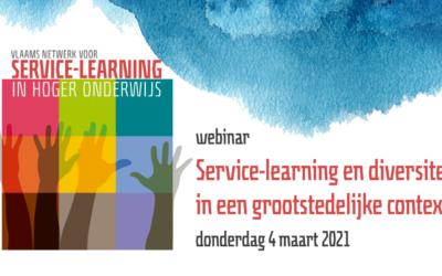 Webinar 'Service-learning & diversiteit'