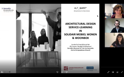 Architectural Design Service-Learning (AD-SL) in 'Solidair Mobiel Wonen' en 'WoonBox'