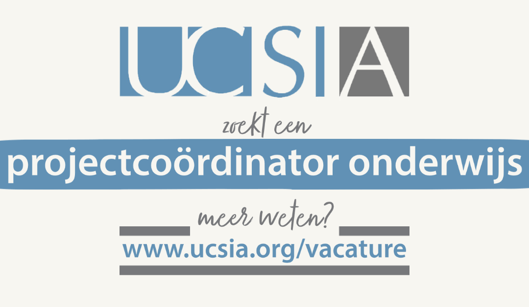 Vacature projectcoördinator onderwijs